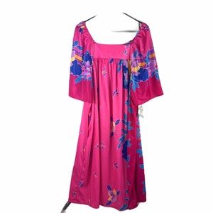 Vintage Granada Boutique Plus Size Tropical dress